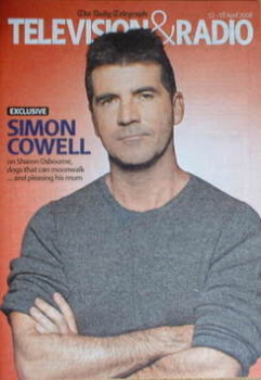Television&Radio magazine - Simon Cowell cover (12 April 2008)