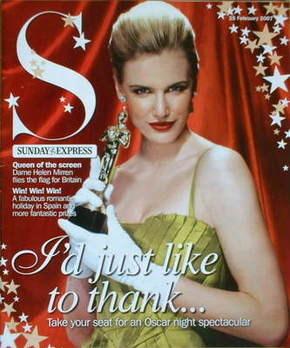 <!--2007-02-25-->Sunday Express magazine - 25 February 2007