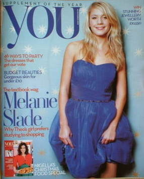 <!--2008-11-30-->You magazine - Melanie Slade cover (30 November 2008)