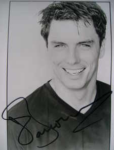 John Barrowman signed photograph