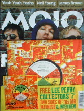 <!--2003-07-->MOJO magazine - REM cover (July 2003 - Issue 116)