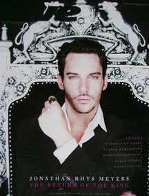 <!--2008-07-27-->Live magazine - Jonathan Rhys Meyers cover (27 July 2008)