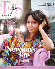 Evening Standard magazine - Thandie Newton cover (25 April 2008)