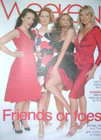 Weekend magazine - Sex And The City girls cover (24 May 2008)