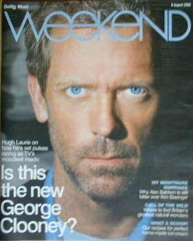 Weekend magazine - Hugh Laurie cover (9 August 2008)