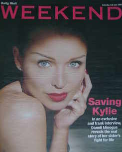 <!--2006-06-03-->Weekend magazine - Dannii Minogue cover (3 June 2006)