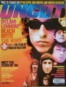 Uncut magazine - Bob Dylan cover (February 2006)