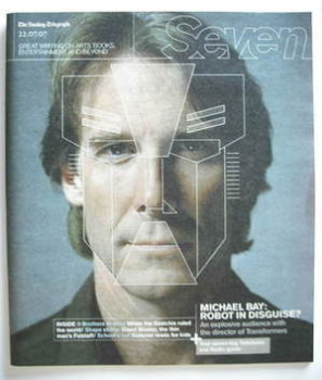 <!--2007-07-22-->Seven magazine - Michael Bay cover (22 July 2007)