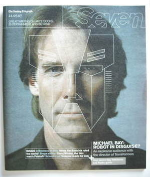 Seven magazine - Michael Bay cover (22 July 2007)