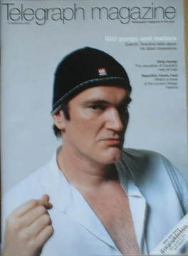 <!--2007-09-15-->Telegraph magazine - Quentin Tarantino cover (15 September