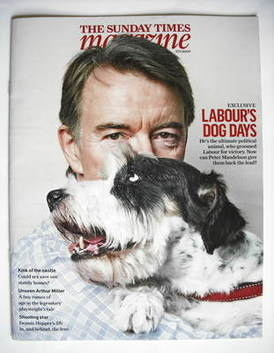 <!--2009-09-27-->The Sunday Times magazine - Peter Mandelson cover (27 Sept
