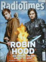 <!--2006-10-07-->Radio Times magazine - Jonas Armstrong and Richard Armitage cover (7-13 October 2006)