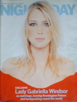 Night & Day magazine - Lady Gabriella Windsor cover (3 July 2005)