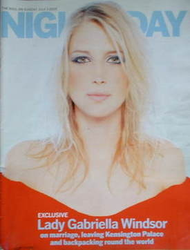 Night & Day magazine - Lady Gabriella Windsor cover (3 July 2005)