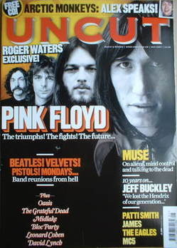 <!--2007-05-->Uncut magazine - Pink Floyd cover (May 2007)