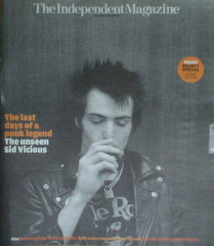 The Independent magazine - Sid Vicious cover (31 May 2008)