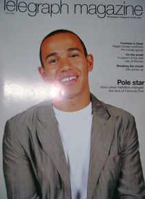 <!--2007-07-07-->Telegraph magazine - Lewis Hamilton cover (7 July 2007)