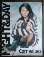 Night & Day magazine - Andrea Corr cover (25 September 2005)