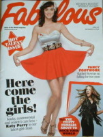 <!--2008-12-14-->Fabulous magazine - Katy Perry cover (14 December 2008)