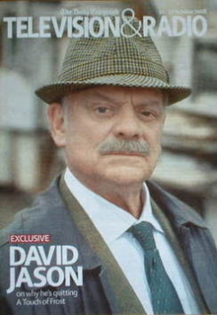 Television&Radio magazine - David Jason cover (11 October 2008)