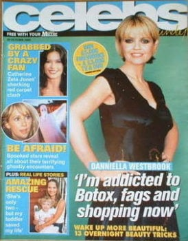 Celebs magazine - Danniella Westbrook cover (30 October 2005)