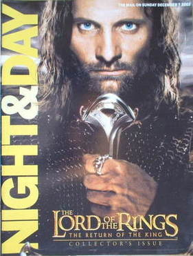 Night & Day magazine - Viggo Mortensen cover (7 December 2003)