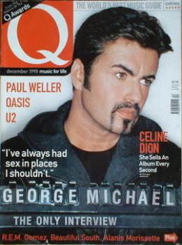 Q magazine - George Michael cover (December 1998)