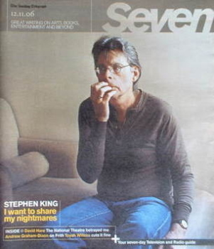 Seven magazine - Stephen King cover (12 November 2006)