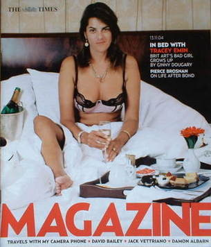 <!--2004-11-13-->The Times magazine - Tracey Emin cover (13 November 2004)