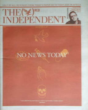 The Independent newspaper - The Red Issue (16 May 2006)
