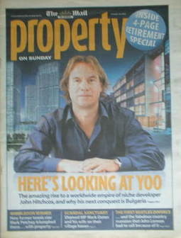 The Mail On Sunday Property newspaper supplement (29 October 2006)