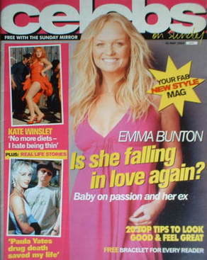 <!--2004-05-30-->Celebs magazine - Emma Bunton cover (30 May 2004)