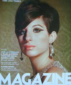 <!--2005-11-19-->The Times magazine - Barbra Streisand cover (19 November 2