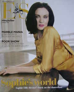 <!--2007-02-16-->Evening Standard magazine - Sophie Ellis-Bextor cover (16 February 2007)