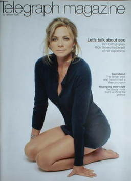 <!--2005-10-22-->Telegraph magazine - Kim Cattrall cover (22 October 2005)