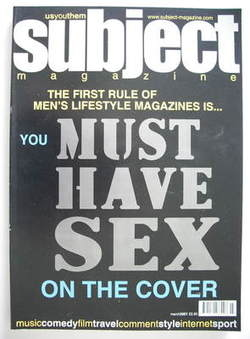 Subject magazine - (March 2001 - Issue 1)