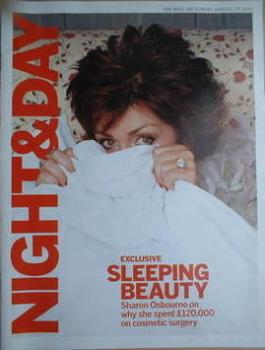 Night & Day magazine - Sharon Osbourne cover (22 August 2004)