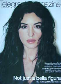 <!--2003-01-18-->Telegraph magazine - Monica Bellucci cover (18 January 200