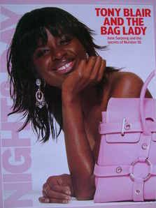 Night & Day magazine - June Sarpong cover (23 January 2005)