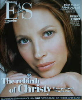 <!--2006-07-07-->Evening Standard magazine - Christy Turlington cover (7 Ju