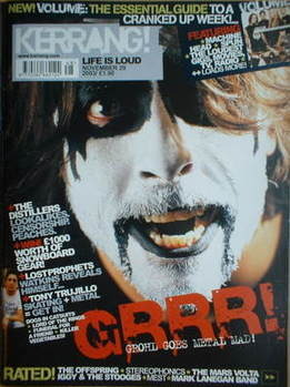 <!--2003-11-29-->Kerrang magazine - Dave Grohl cover (29 November 2003 - Is