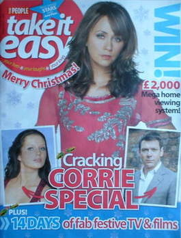 Take It Easy magazine - Samia Smith cover (21 December 2008)