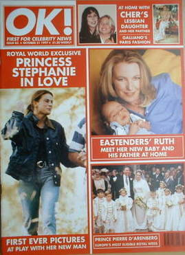 <!--1997-10-31-->OK! magazine - Princess Stephanie cover (31 October 1997 -