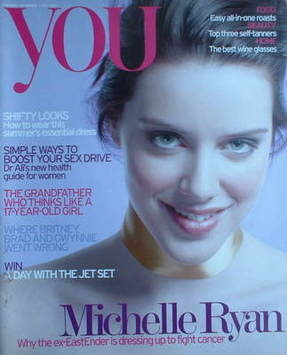 <!--2006-05-07-->You magazine - Michelle Ryan cover (7 May 2006)