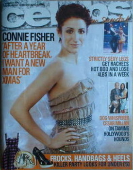 Celebs magazine - Connie Fisher cover (14 December 2008)
