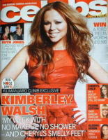 <!--2009-03-08-->Celebs magazine - Kimberley Walsh cover (8 March 2009)