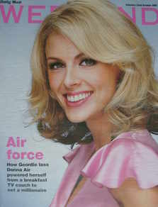 Weekend magazine - Donna Air cover (22 October 2005)