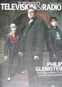 Television&Radio magazine - Mackenzie Crook, Philip Glenister and Christian