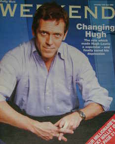 Weekend magazine - Hugh Laurie cover (11 June 2005)