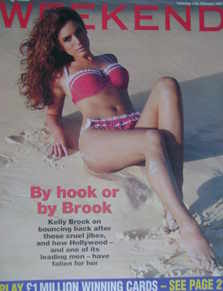 Weekend magazine - Kelly Brook cover (11 February 2006)